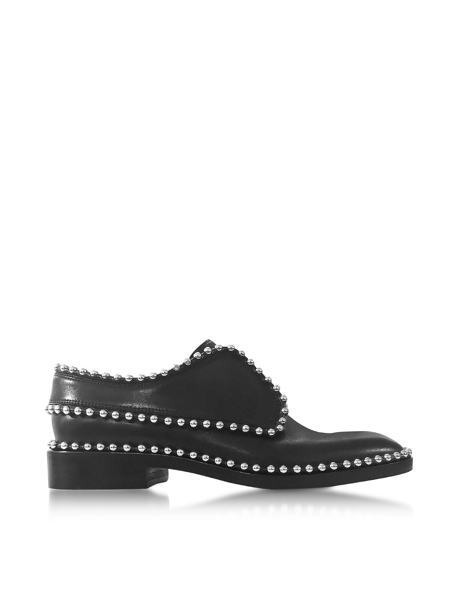 Alexander Wang Shoes, Wendie Black Leather Oxford