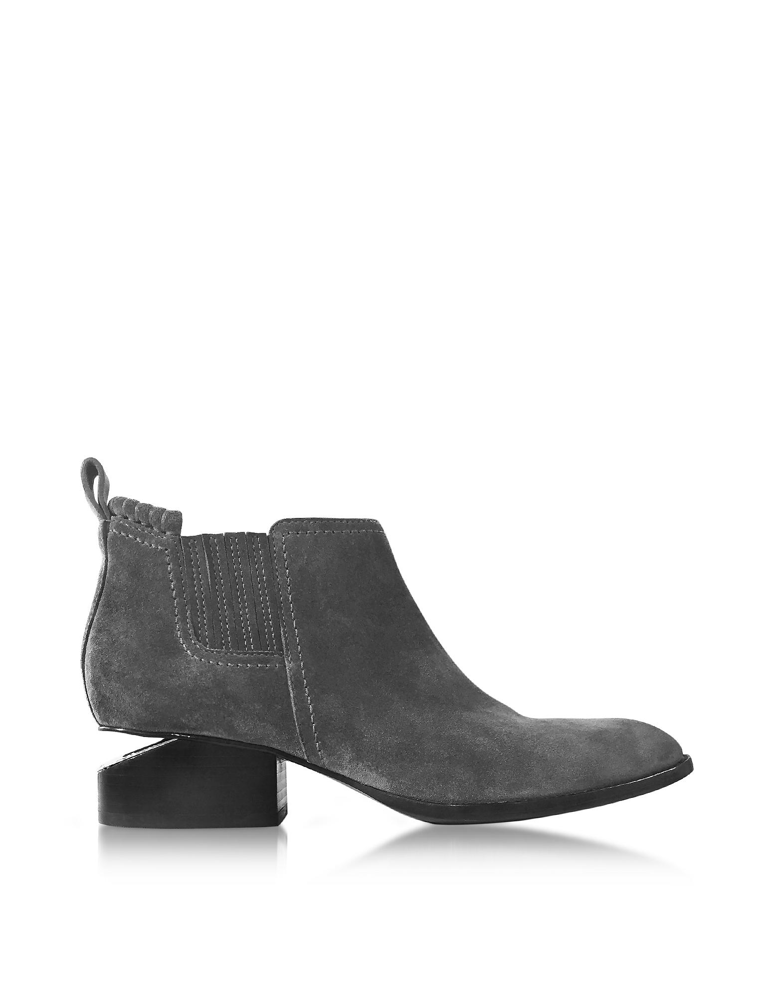 Фото Kori - Норковые Замшевые Ботинки. Купить с доставкой