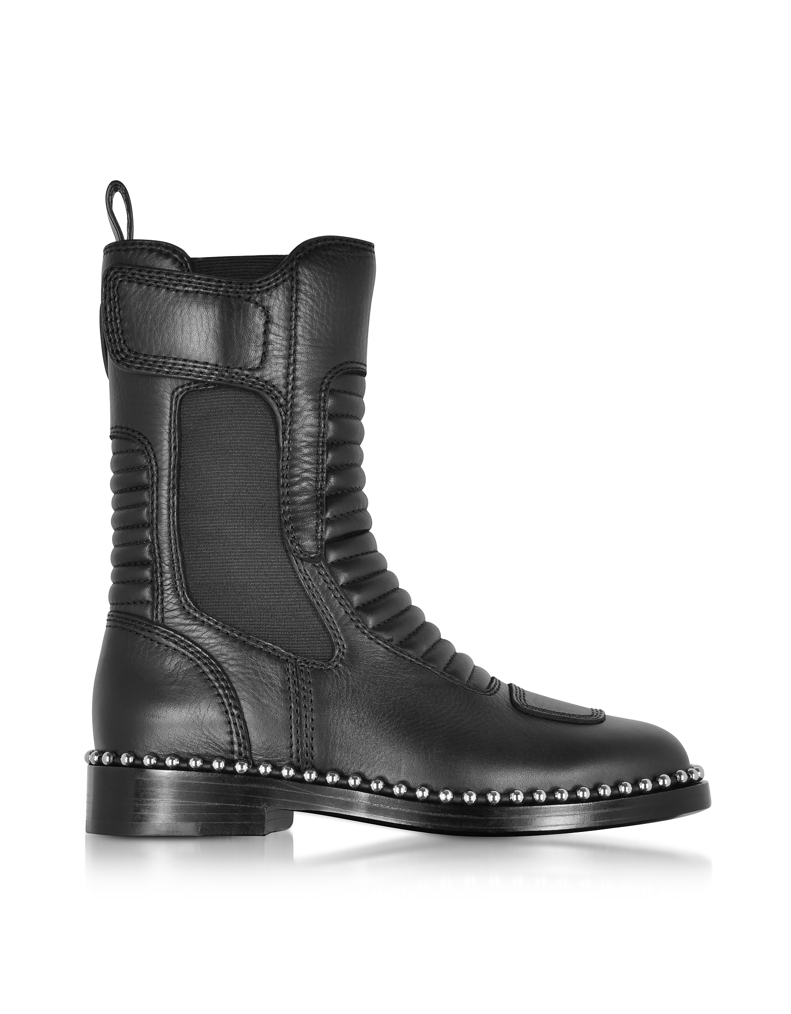 Alexander Wang Shoes, Mica Black Leather Boots