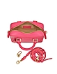 Sofia Mini Neon Pink Crossbody - Aspinal of London
