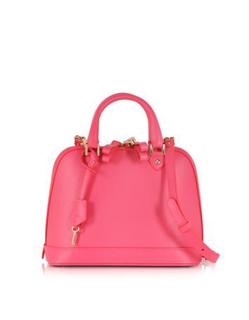 Mini Hepburn Neon Pink Satchel