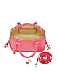 Mini Hepburn Neon Pink Satchel - Aspinal of London