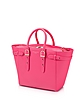 Neon Pink Merylebone Medium Tote Bag - Aspinal of London