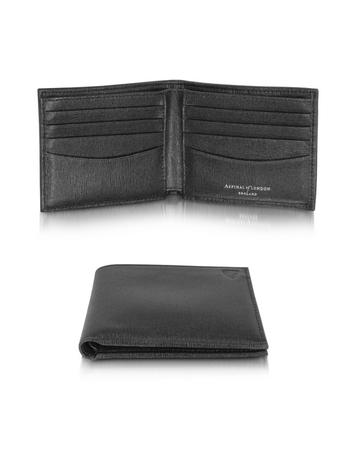 Lux-ID 316741 Saffiano and Suede Men's Billfold Wallet