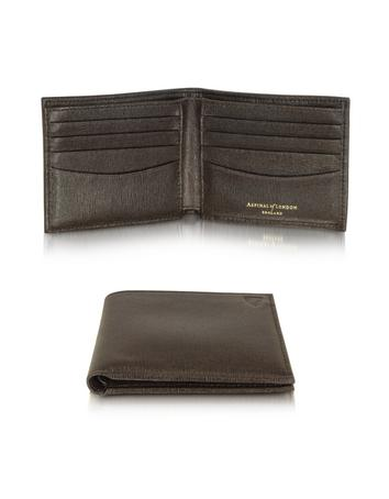 Lux-ID 316742 Saffiano and Suede Men's Billfold Wallet