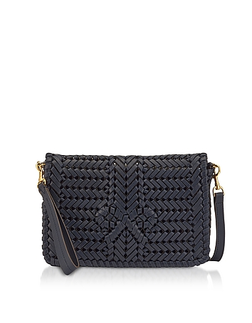 Marine Calf Leather The Neeson CrossBody Bag