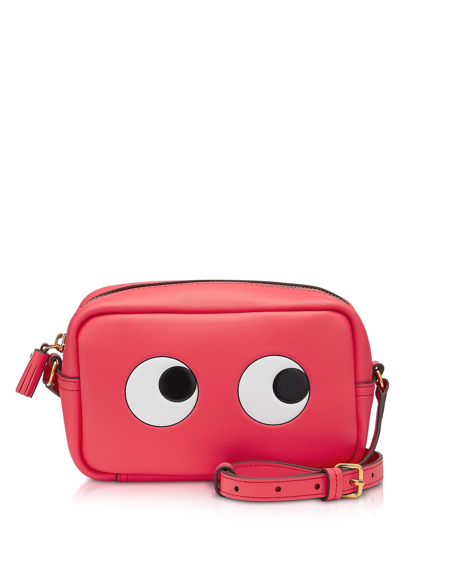 Circus Leather Mini Eyes Cross-Body Bag
