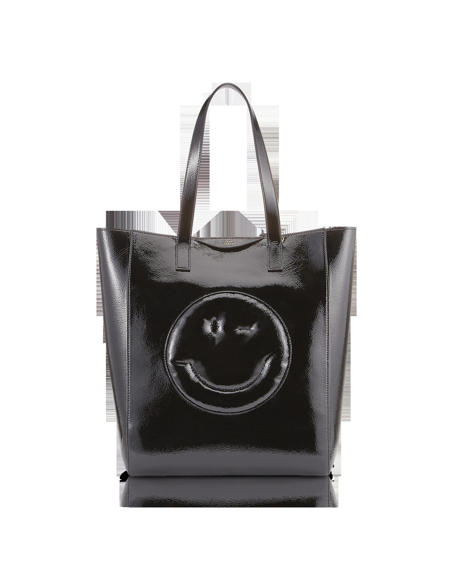 Image of Black Naplak Chubby Wink Tote Bag