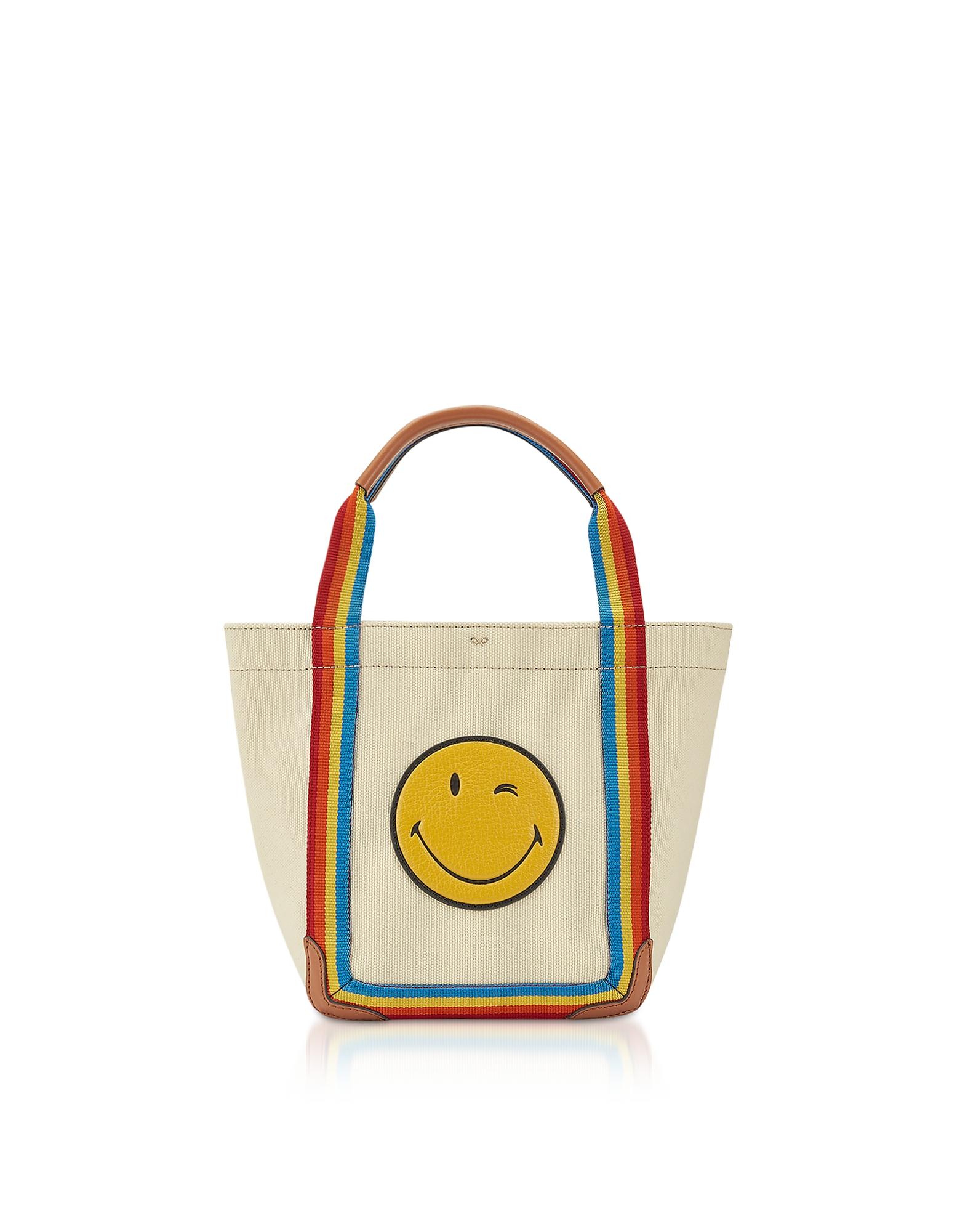 Mini Wink Pont Tote w/ Rainbow Nastro