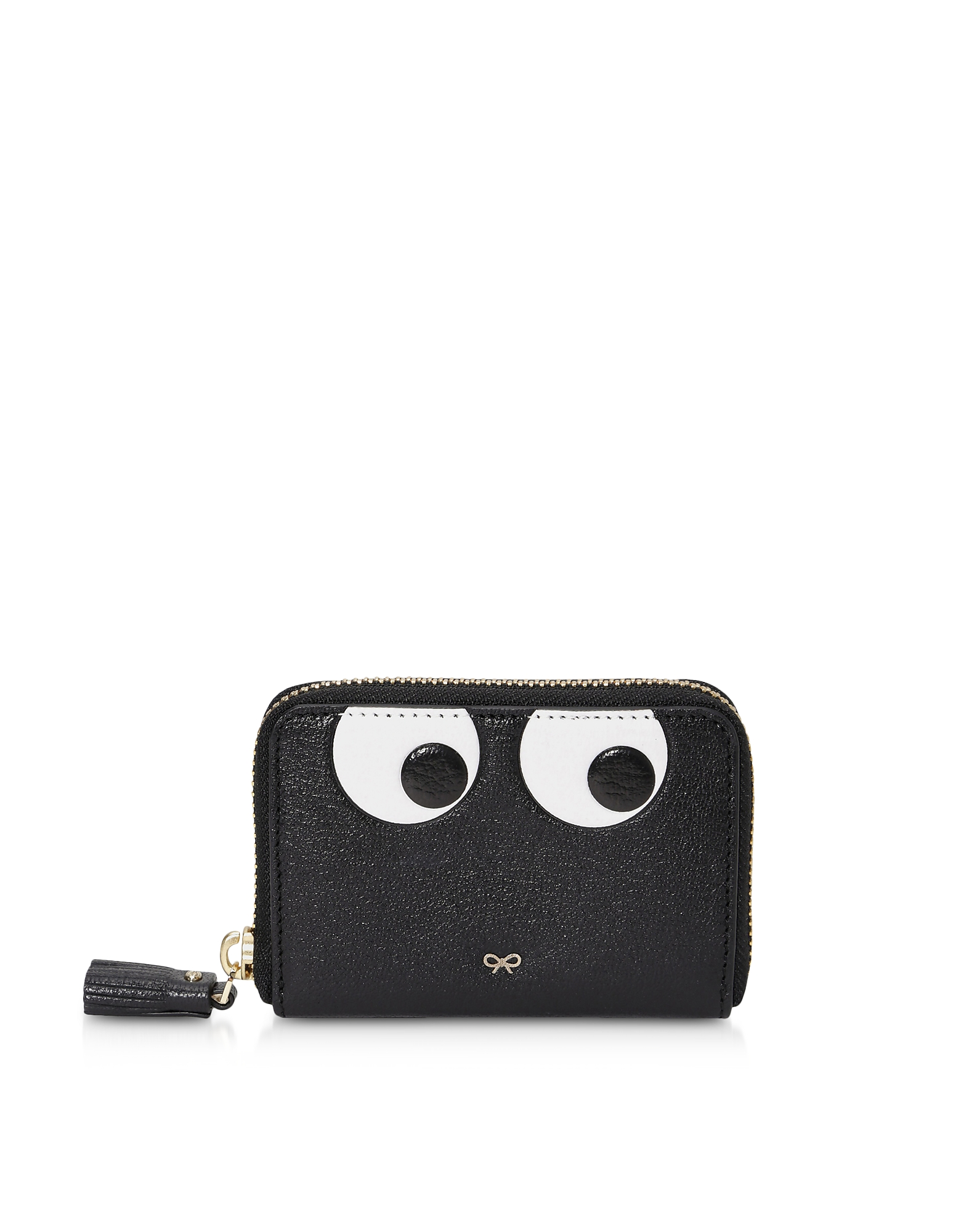 Eyes Small Zip Around Wallet