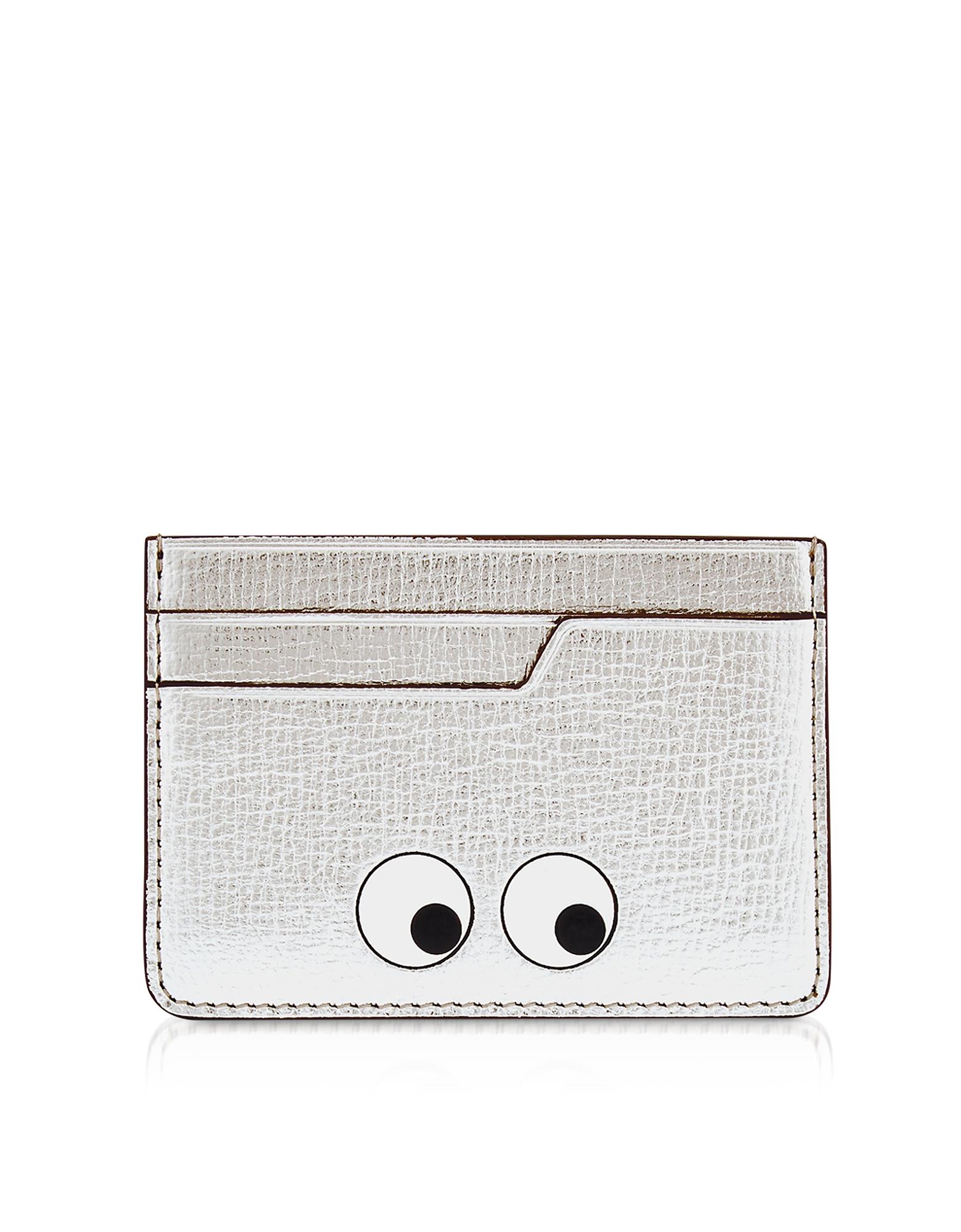 Silver Eyes Card Case