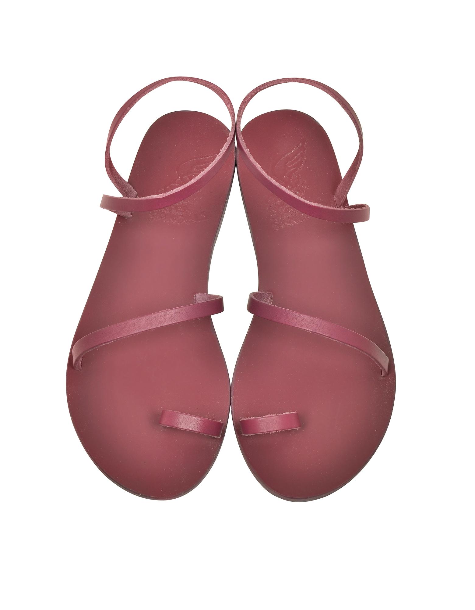 Apli Eleftheria Raspberry Leather Sandal от Forzieri.com INT