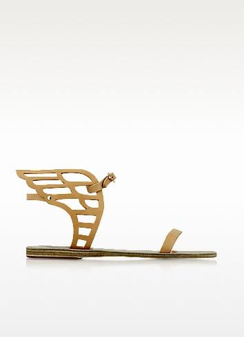 Ancient Greek Sandals Ikaria - Кружевные Сандалии из Натуральной Кожи