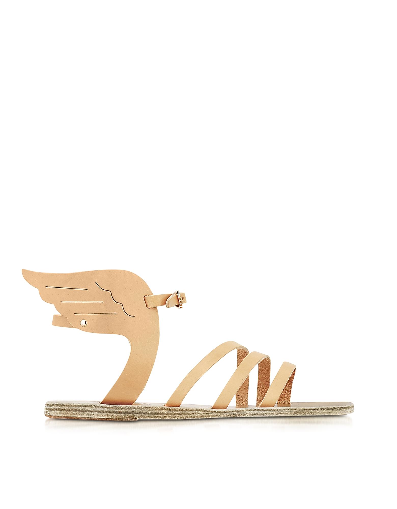 Ancient Greek Sandals Shoes, Ikaria Natural Leather Sandal