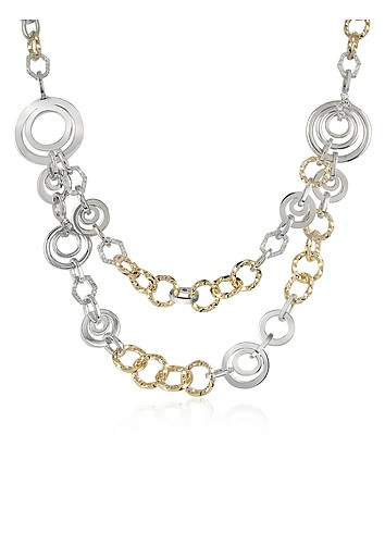 AZ Collection Swarovski Crystal Chain Opera Necklace :  swarovski women womens italian jewelry