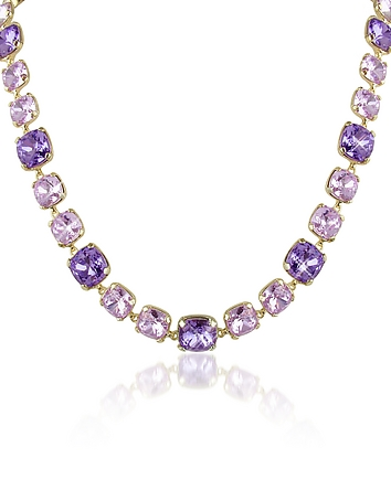 AZ Collection - Amethyst Crystal Necklace