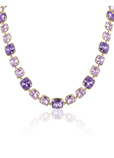 Amethyst Crystal Necklace - AZ Collection
