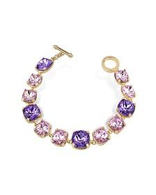 Amethyst Crystal Bracelet  - AZ Collection