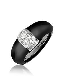 Black Bangle Bracelet - AZ Collection
