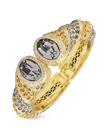 AZ Collection - Gold-plated Cuff Bracelet