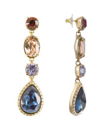 Multicolor Drop Earrings