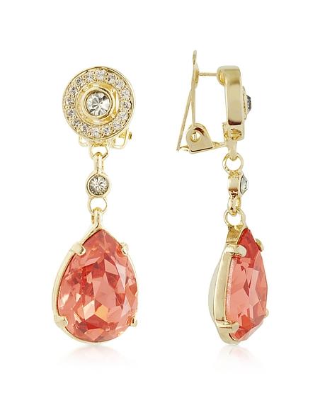 AZ Collection Boucles d'oreilles avec cristaux