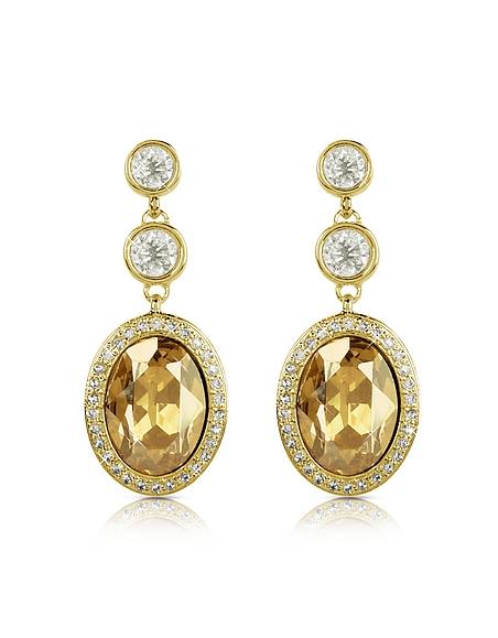AZ Collection Boucles d'oreilles avec cristal Swarovski