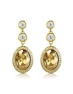 AZ Collection Orecchini Placcati Oro con Cristalli - az collection - it.forzieri.com