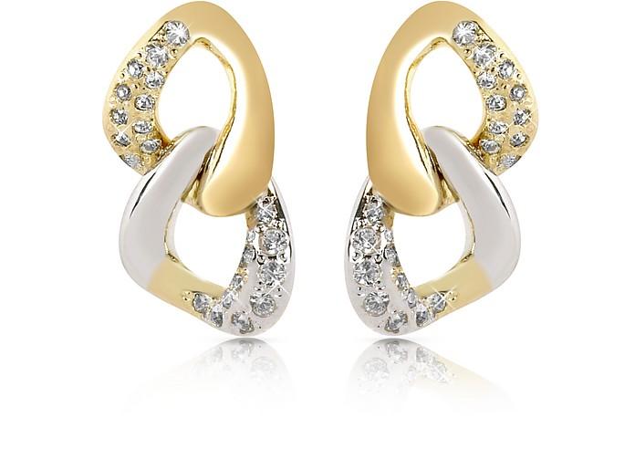 Ohrringe mit Swarovskisteinen - AZ Collection