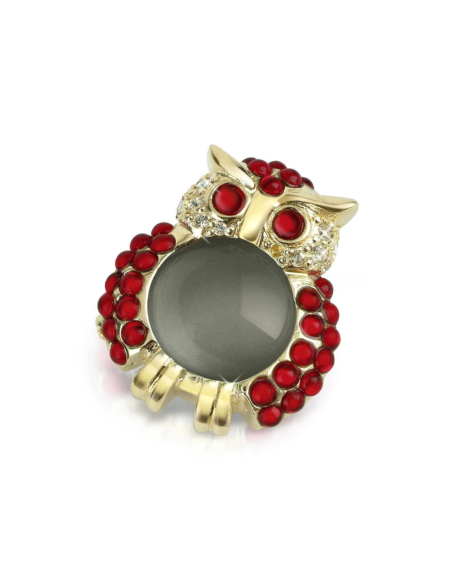 Red Owl Pin