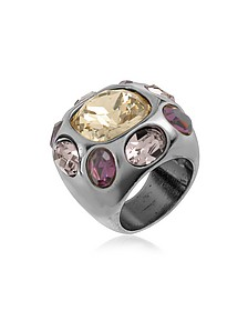 Multicolor Crystal Ring - AZ Collection