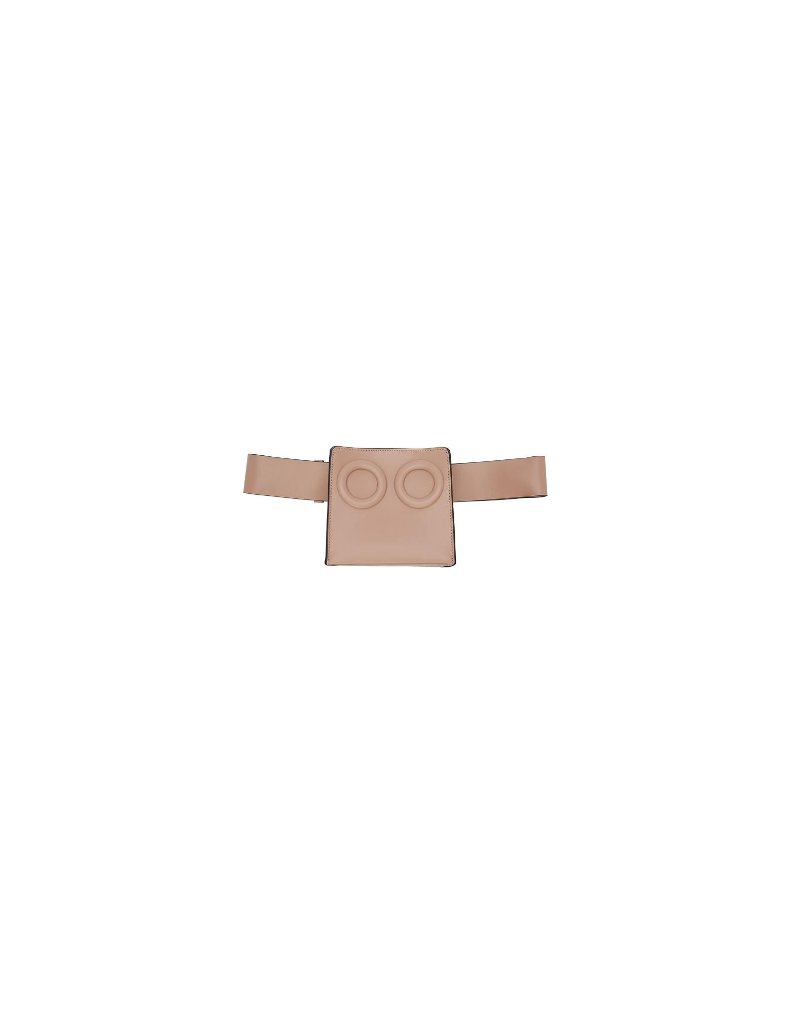 BOYY Designer Handbags, Pink Deon Belt Bag
