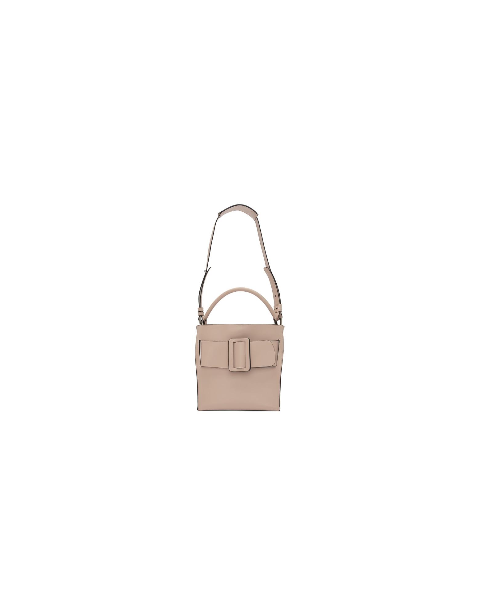 BOYY Designer Handbags, Pink Devon Top Handle Bag