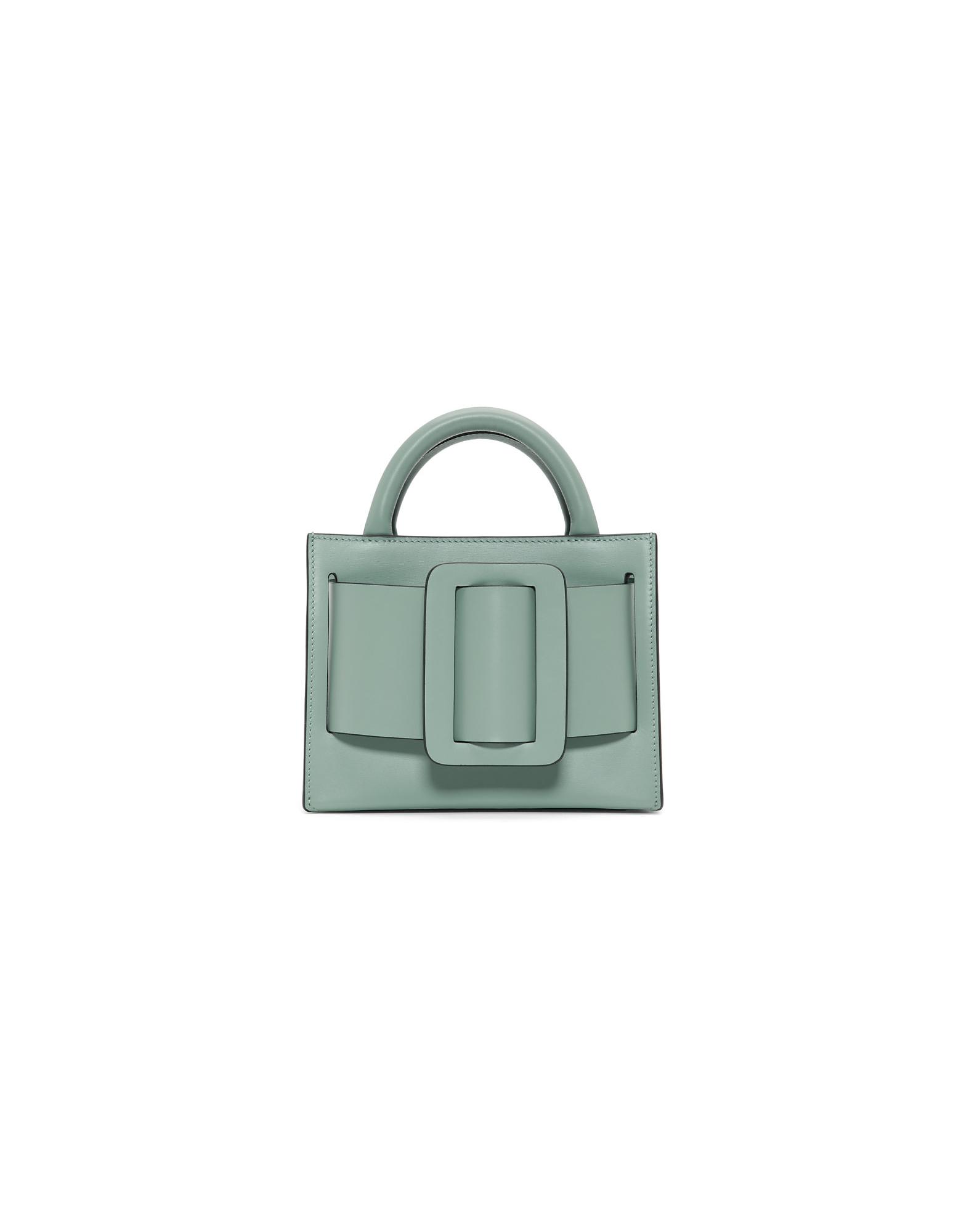 BOYY Designer Handbags, Blue Bobby 18 Bag