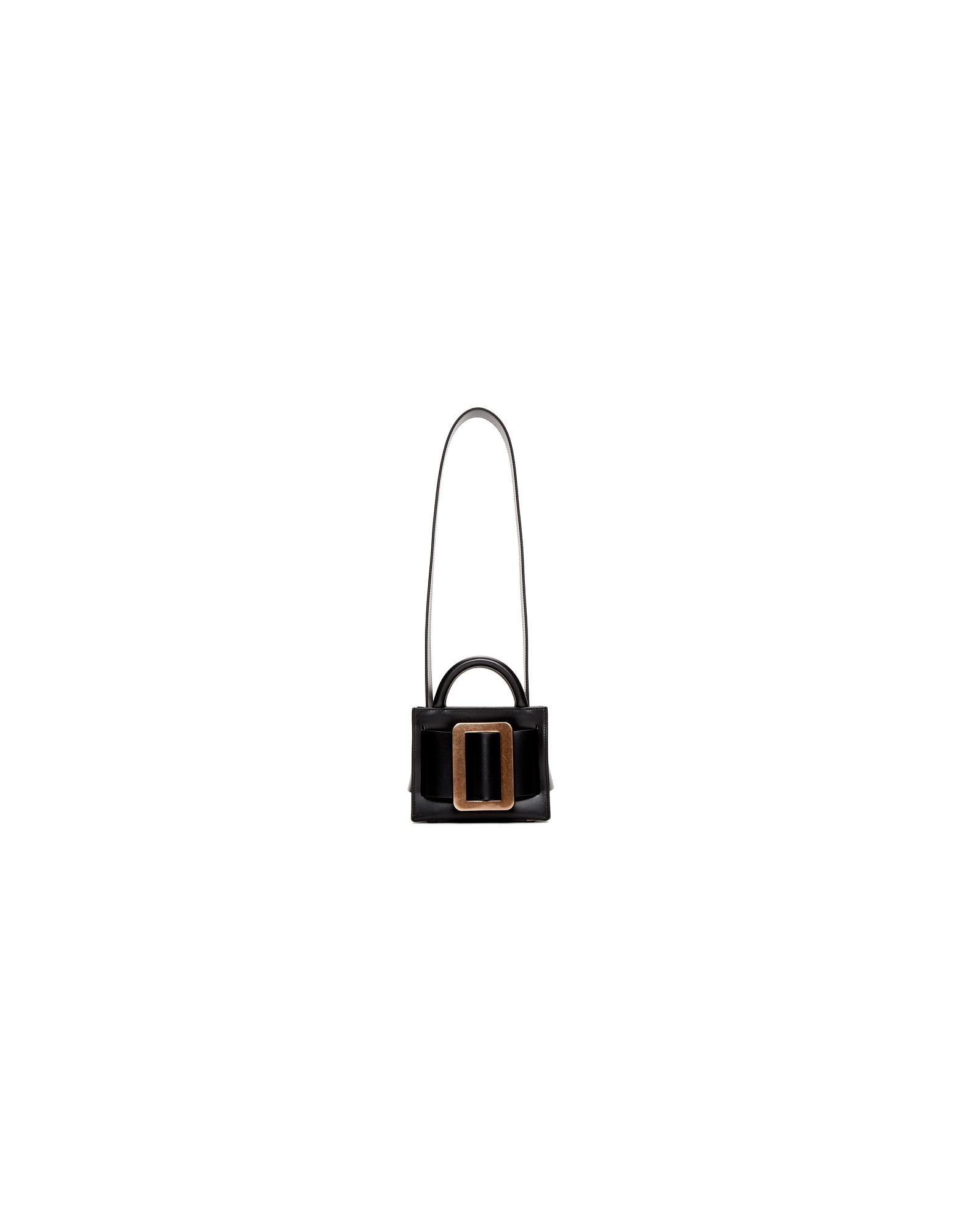 BOYY Designer Handbags, Black Bobby 16 Shoulder Bag