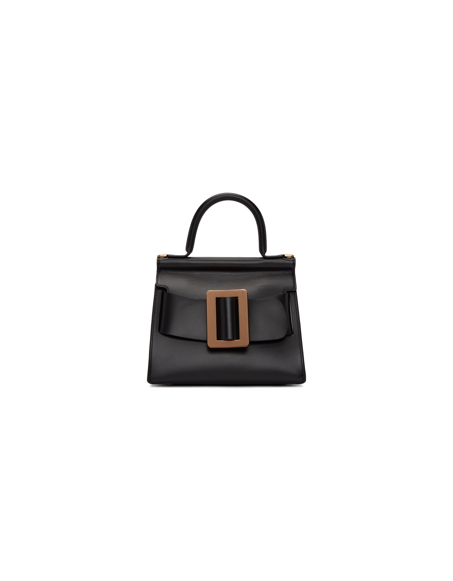 BOYY Designer Handbags, Black Karl 24 Top Handle Bag