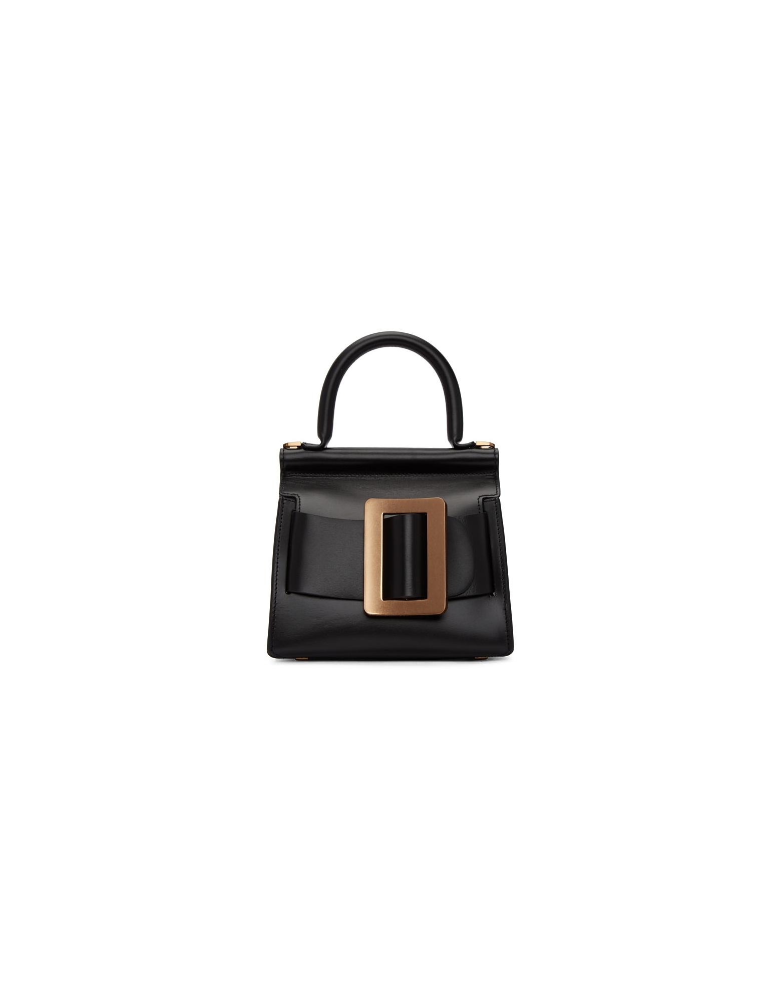 BOYY Designer Handbags, Black Karl 19 Top Handle Bag