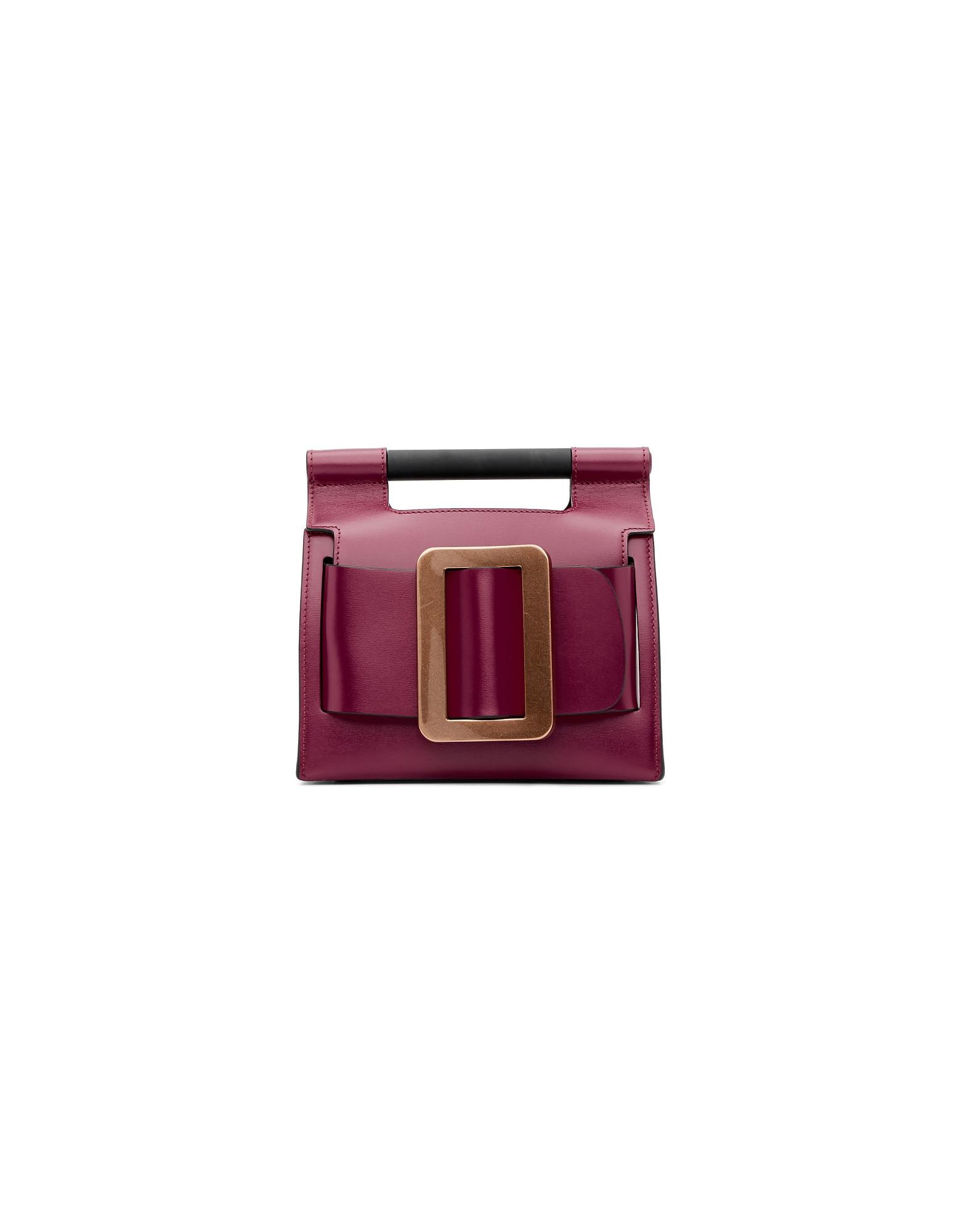 BOYY Designer Handbags, Purple Romeo 19 Bag