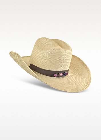 Jeweled Cowgirl Hat - Borsalino