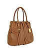 Belina Sport Leather Bowler Bag - Badgley Mischka