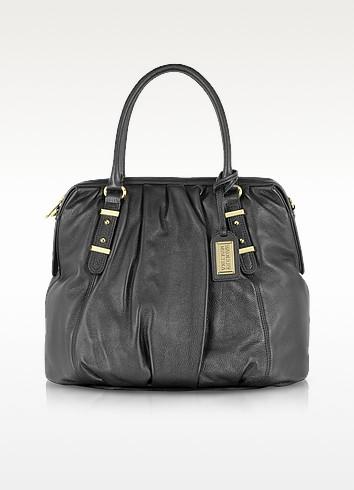 Belina Sport Leather Bowler Bag - Badgley Mischka