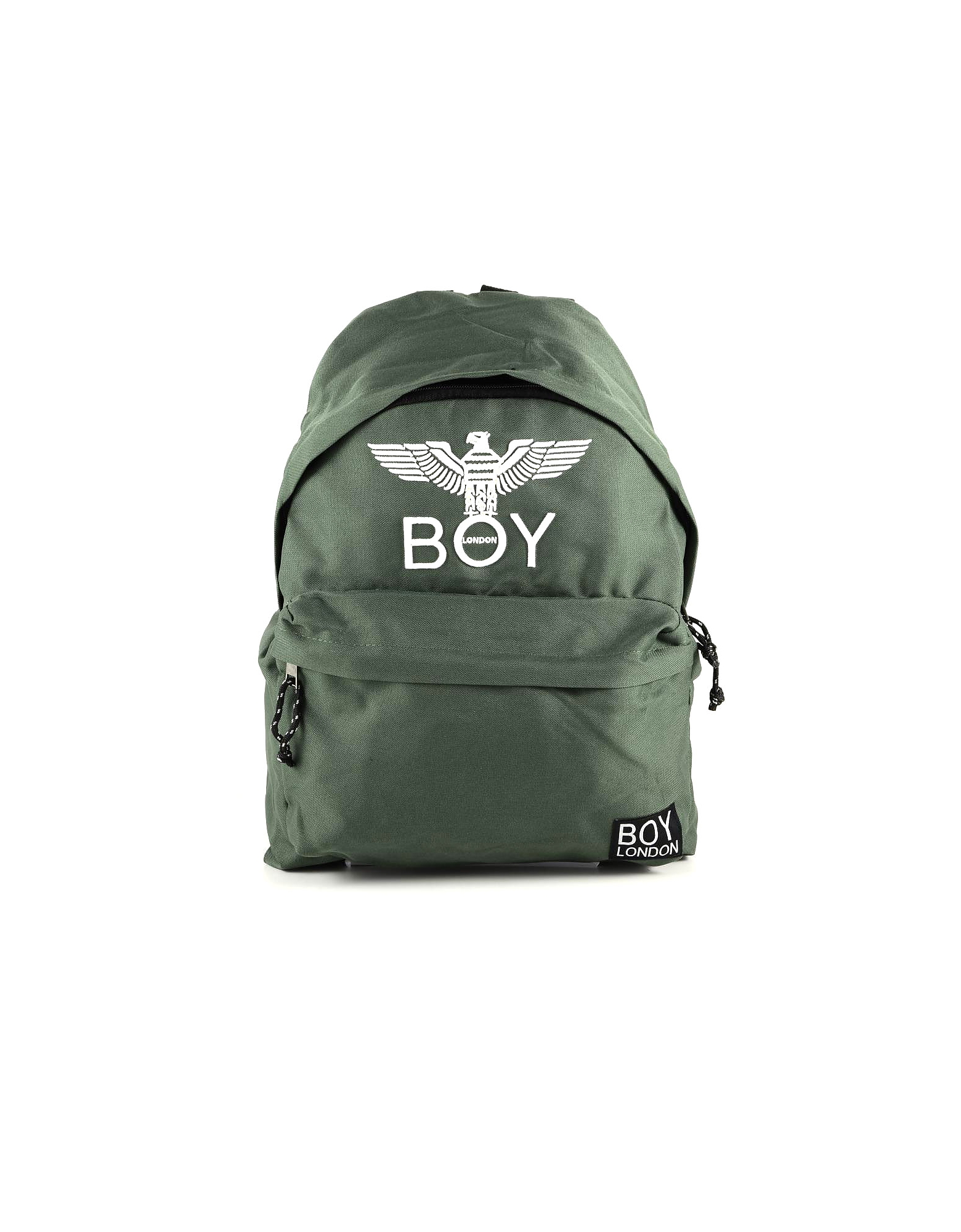 BOY London Designer Men's Bags, Olive Green Boy Eagle Backpack