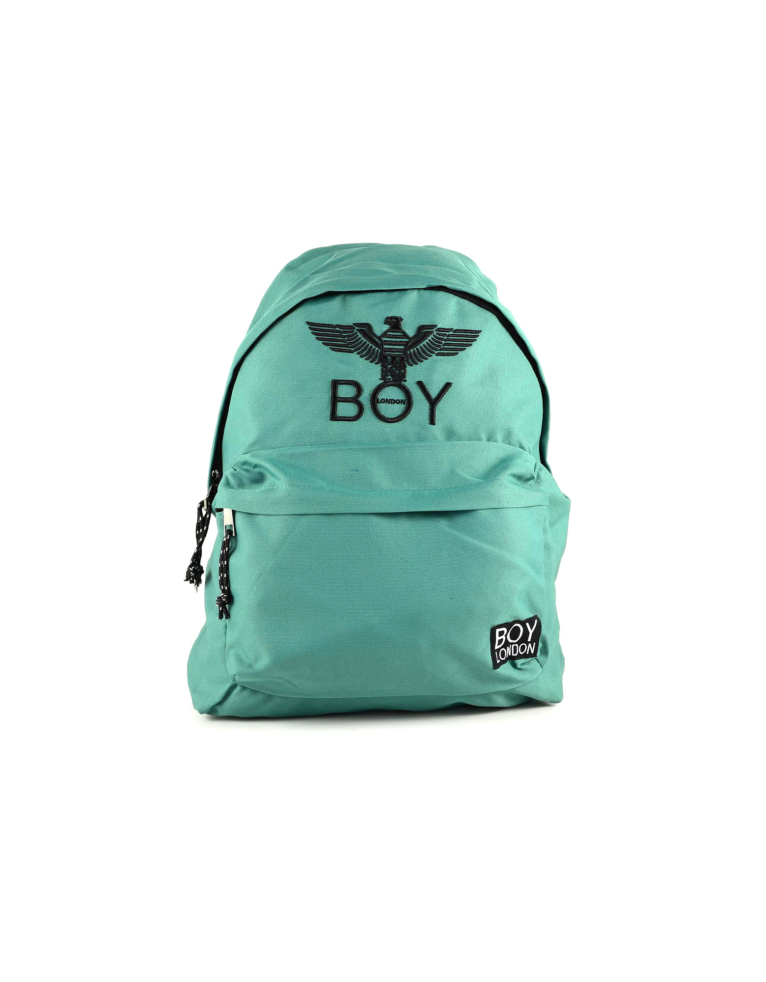 BOY London Designer Men's Bags, Emerald Green Boy Eagle Backpack
