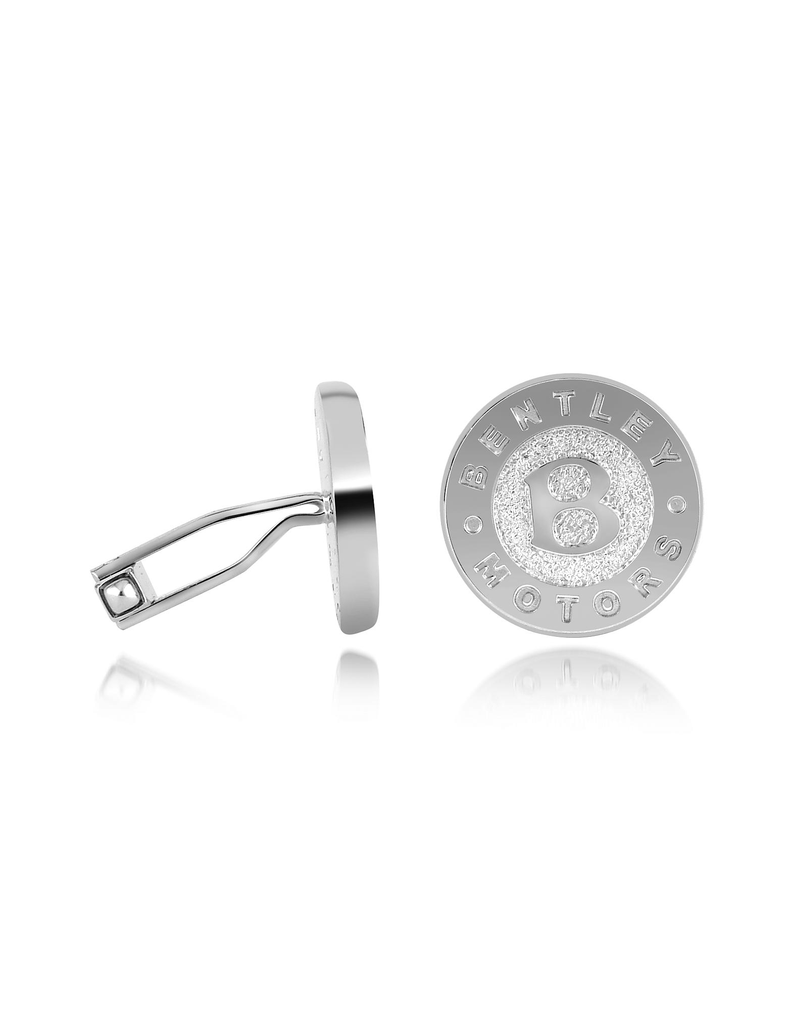 Серебрянные Запонки 'Bentley Motors'