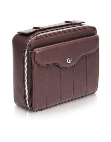 Bentley Handmade Brown Leather Washbag/Toiletry Case