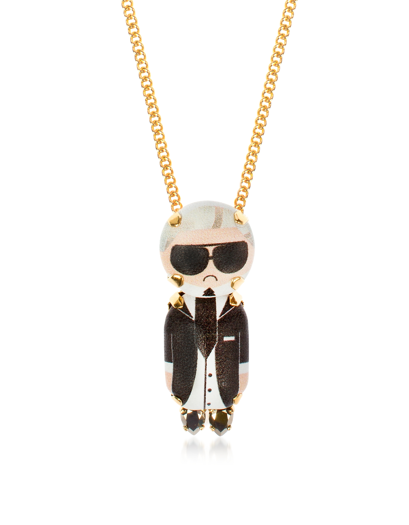Karl Chain Pendant Necklace