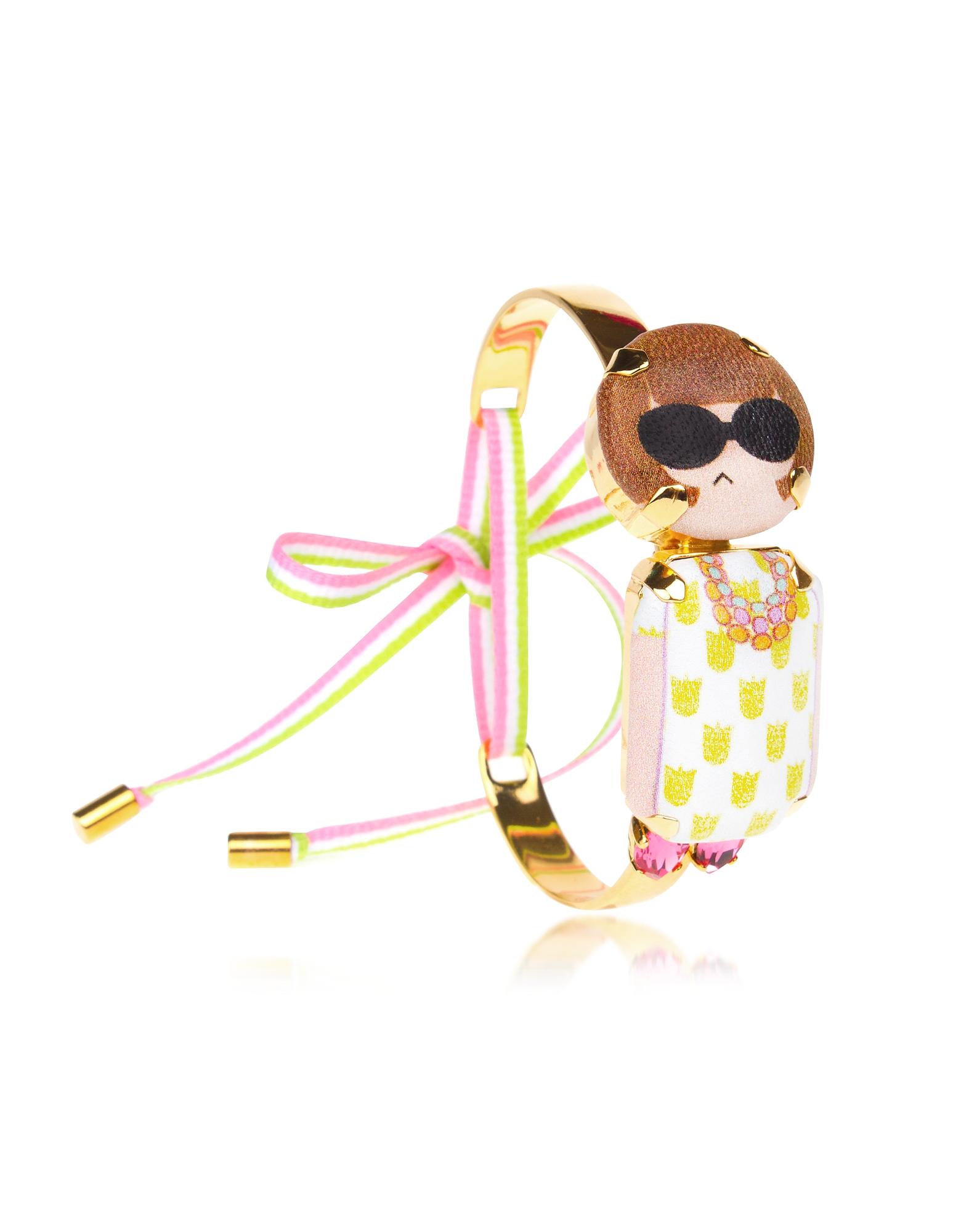 Anna Mini Choker Bracelet, Multicolor