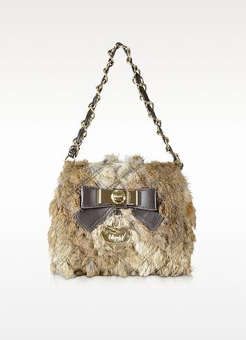 Fur Baguette Bag - Blugirl
