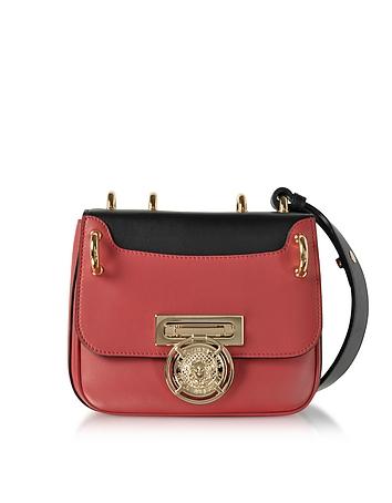 Balmain - Renaissance 18 Glove Bicolor Leather Small Shoulder Bag