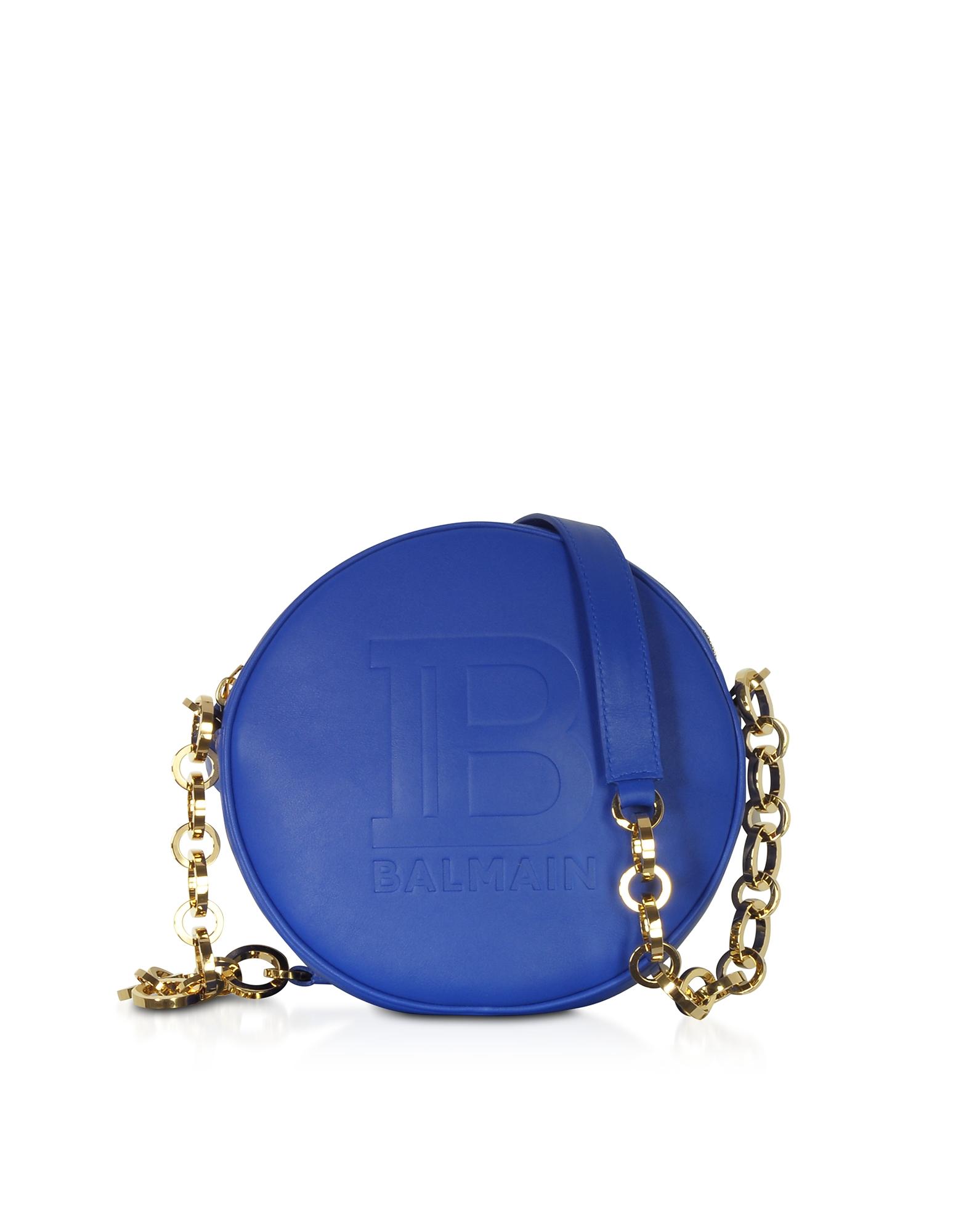Balmain Designer Handbags, Mini Disco Shoulder Bag